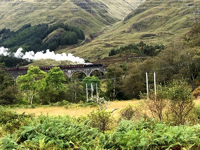 """עוד תמונה של הרכבת של """"הארי פוטר"""""""